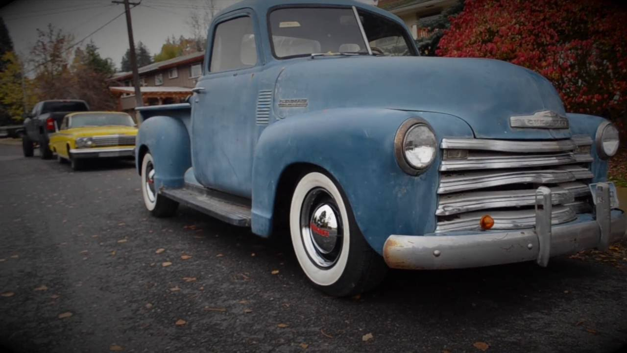 Project Rascal 1953 Chevy 3100 LS powered Farm Truck - YouTube