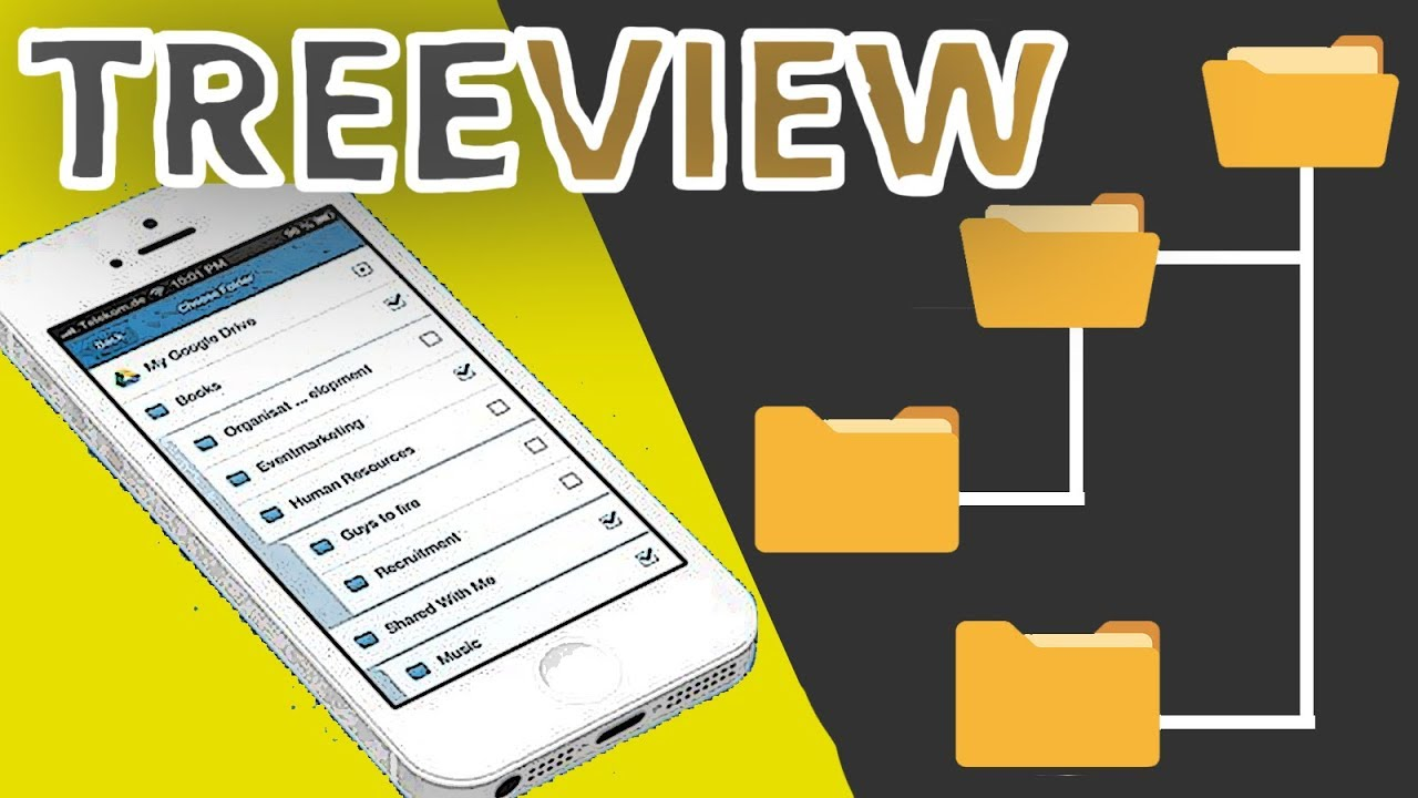 TreeView Android | Easiest Way To Implement TreeView With Step By Step  Tutorial