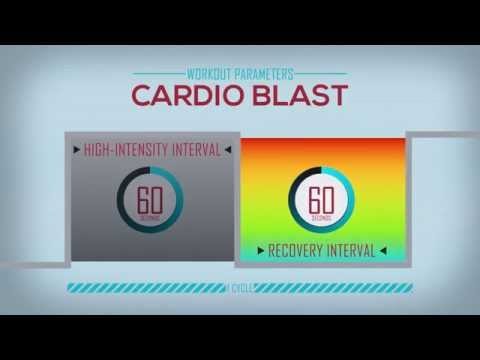 NuStep Workout - The Cardio Blast
