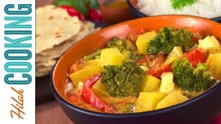 Quick Indian Curry Recipe - How To Make Vegetable Curry
