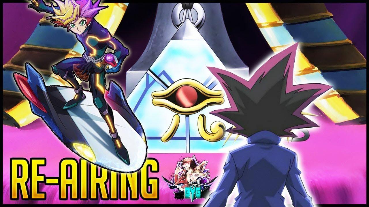 VRAINS ENGLISH DUB Announced + Yu-Gi-Oh! Pyramid of Light Re-Airing