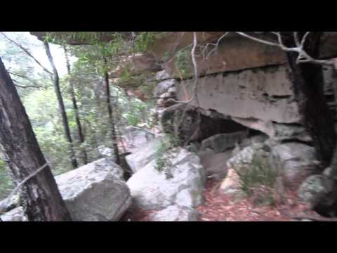 AUSTRALIA - MORTON NATIONAL PARK - granite falls, boyd lookout