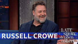 Russell Crowe Reunited With His 'gladiator' Horse