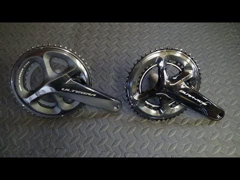 Shimano Dura Ace 9100 vs Ultegra R8000 Chainset