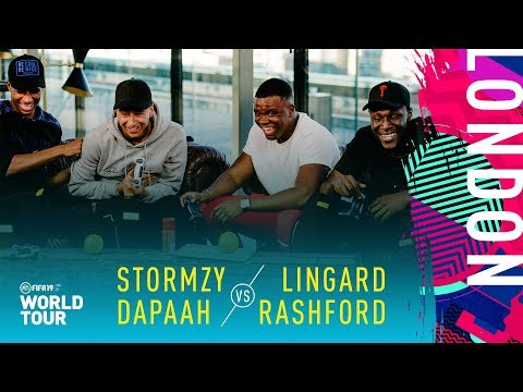 FIFA 19 World Tour | Lingard & Rashford vs Stormzy & Dapaah
