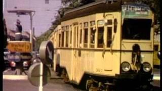 Straßenbahnen- trams in den 60er Jahren und heute - Eine Zeitreise. Ein neuer Film von tram-tv