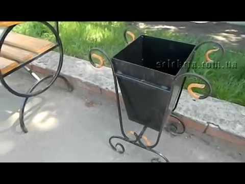 Урны для мусора из металла своими руками 27