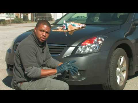Car Cleaning Tips : How to Clean Haze Off of Car Headlights