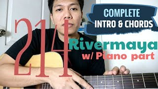 214 Guitar Tutorial (PIANO INTRO and Chords) - Rivermaya MP3