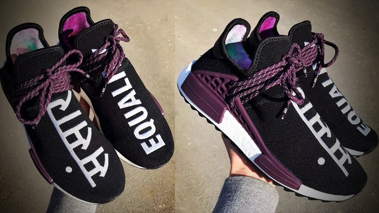 f717c7061 First Look at the 2018 Pharrell Williams Human Race NMD Releasing soon! (  Adidas Heat! )