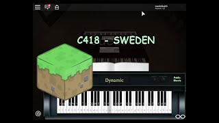 Minecraft - C418 | Roblox Piano + Sheets