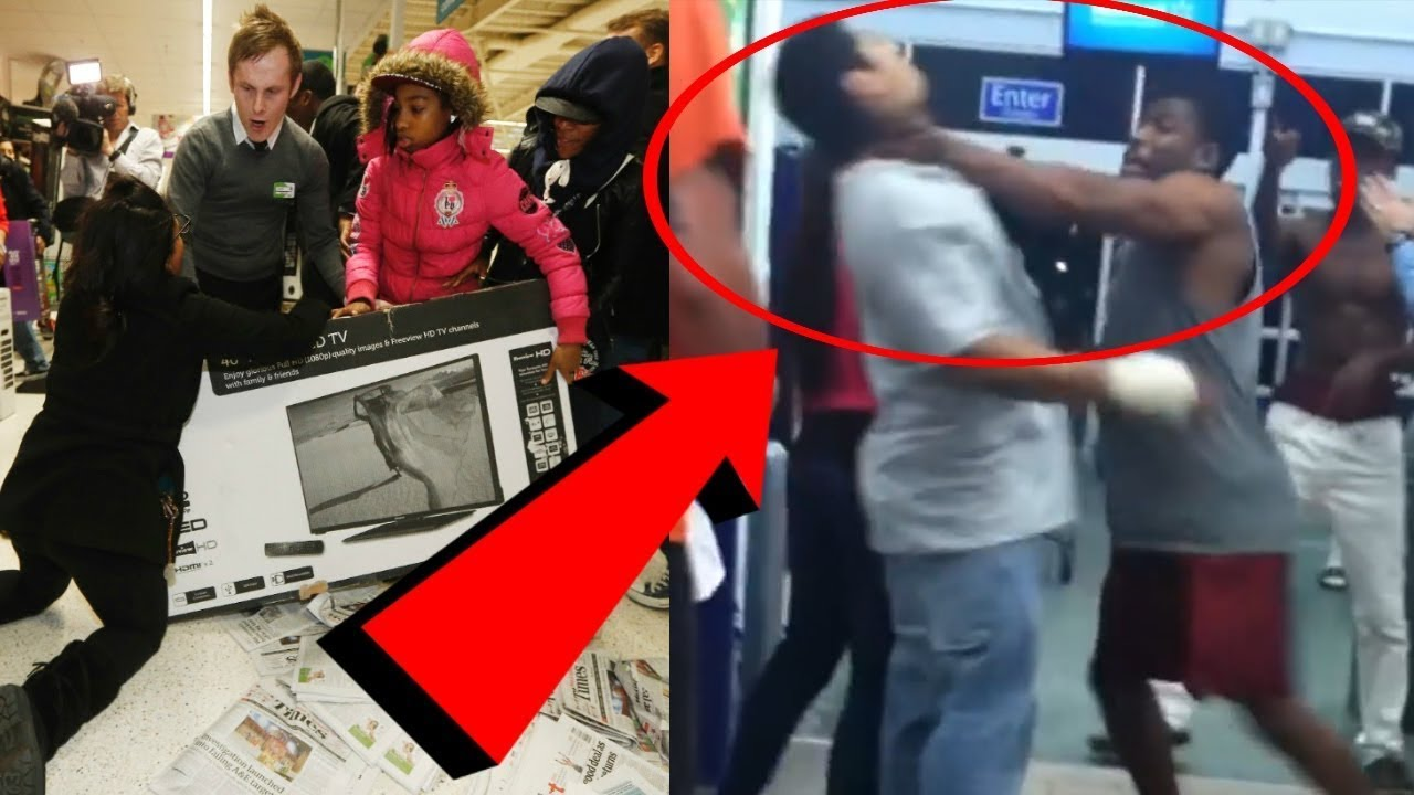 Pires bagarres du BLACK FRIDAY 2017 (VIOLENT) PARTIE 2