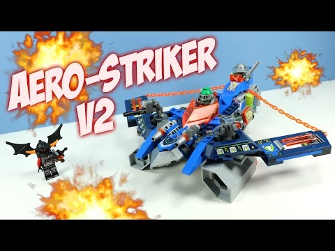 LEGO NEXO Knights Aaron Fox's Aero Striker V2 Set 70320 Review Adventure