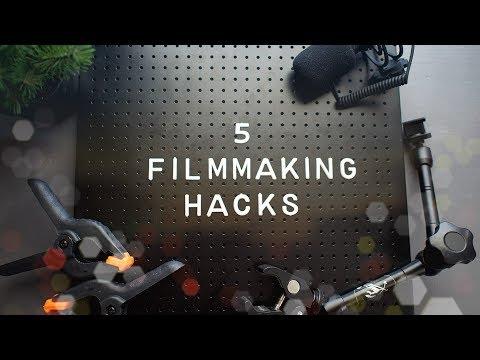 5 Hacks For Filmmaking I Use Most Often