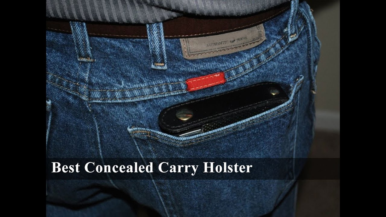 Concealed Carry Holster - YouTube