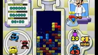 Dr Mario Online Rx - Classic Mode Level 20 in 2:31