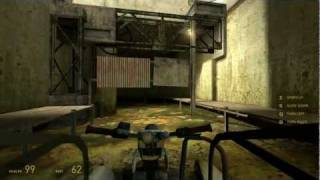 Half-Life 2 Walkthrough: Chapter 3 - Route Kanal {Part 3} [Hard Mode] (1080p)