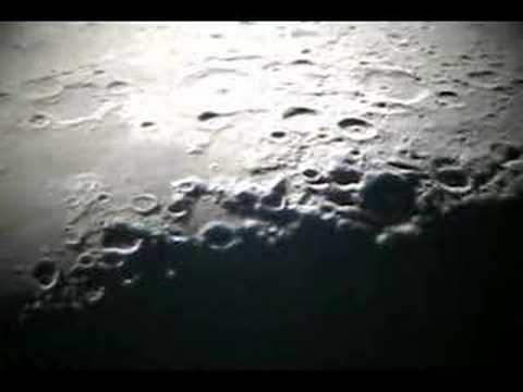 01 the moon close up with large telescope youtube - Moon close up ...