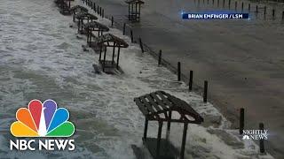Hurricane Hanna Hits Texas Coast With Storm Surge And Heavy Rain | NBC Nightly News