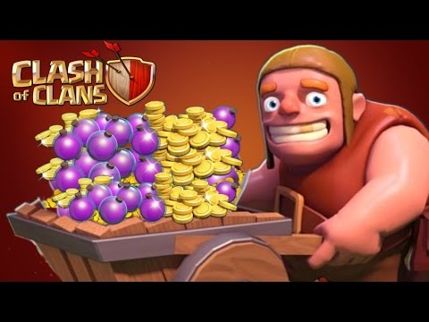 Clash of Clans - MILLIONS IN MINUTES! Get Gold & Dark Elixir Fast! (Tips/Tricks) Loot Special!