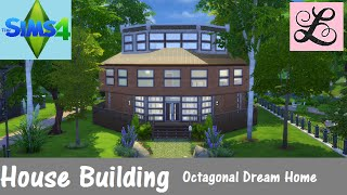 The Sims 4: House Building - Octagonal Dream Home