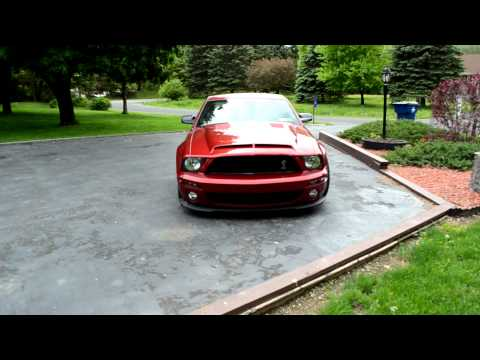 Borla Stingers on cammed and procharged mustang