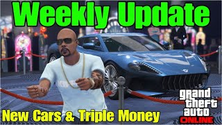 Triple Money Opportunities, New Cars & Weekly Discounts in GTA 5 Online