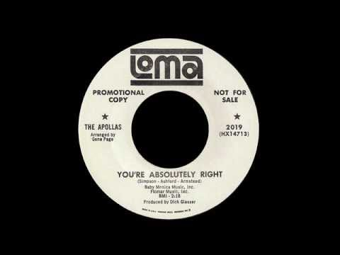 The Apollas - You're Absolutely Right