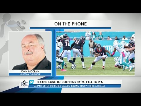 John McClain of The Houston Chronicle Talks Texans & More - 10/28/15