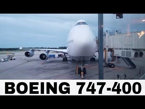 MCO TO FRA - Lufthansa 747-400 Orlando To Frankfurt Daily Flight
