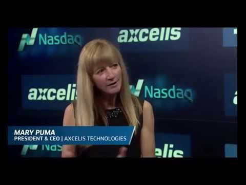 Nasdaq BehindtheBell Interview with Mary Puma