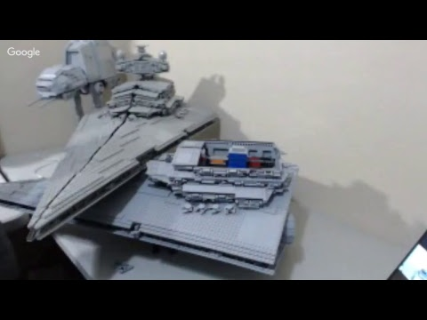 Live Build Session! Rogue One Star Destroyer Collision!