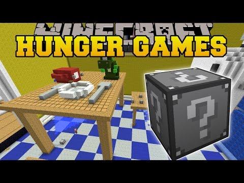 Minecraft: KITCHEN HUNGER GAMES - Lucky...