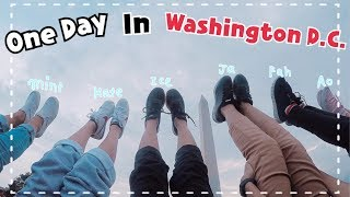 One day in Washington D.C.
