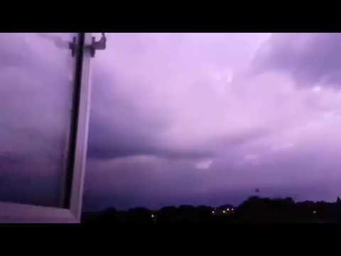 Massive Thunder and lightening storm in Devon & Cornwall