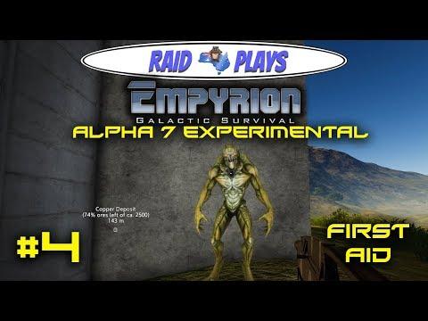 "Let's Play Empyrion Alpha 7 Experimental with RaidzeroAU - #4 - ""First Aid"""