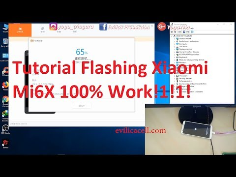 CARA MUDAH FLASH REDMI 4A MENGGUNAKAN MI FLASH TOOL ‼EASY STEP FLASHING XIAOMI REDMI 4A (ROLEX)‼.