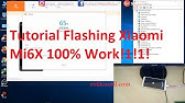 flashing mi 6x dari room abal abal ke stable china - YouTube