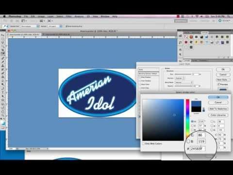 American Idol Logo Tutorial Youtube