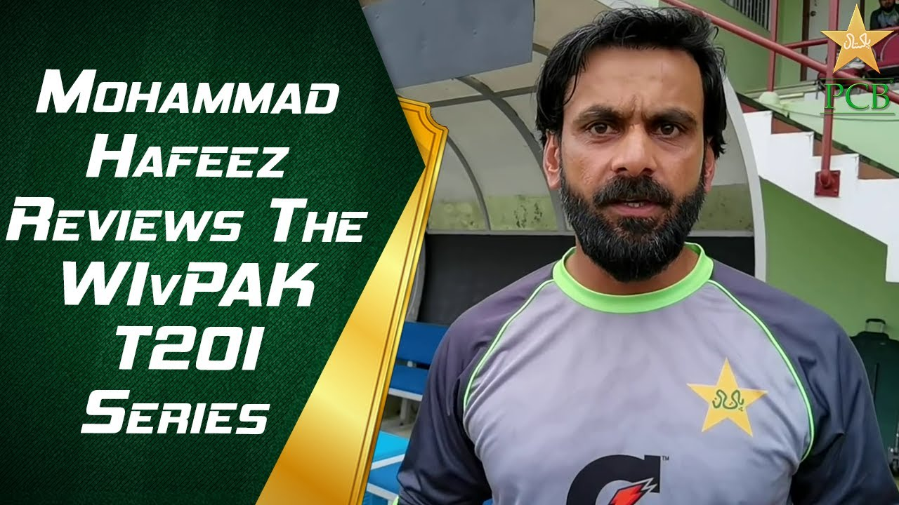 Mohammad Hafeez reviews the #WIvPAK T20I series