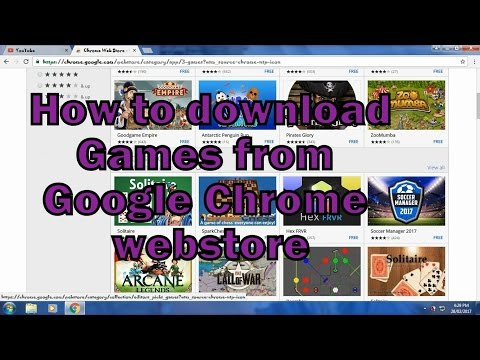 How to Download Games from Google Chrome Webstore