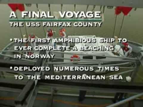 A final VOyage USS Faifax Co Doc