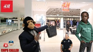 COOLEST MONKEY IN THE JUNGLE GOES TO H&M (BAD IDEA)
