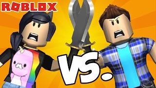 PSICOPADINHA vs PSICOPADINHO! - Roblox (Murder Mystery 2)