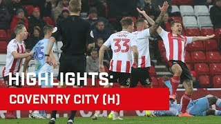 Highlights: Sunderland v Coventry City