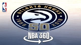 NBA 360 | Grant Hill Tours the Hawks New Nest