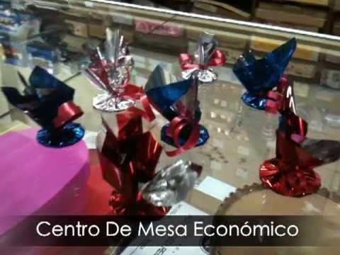 Centro De Mesa Econmico Para Globos  YouTube