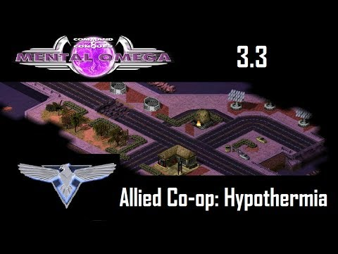 C&C Mental Omega 3.3.2 Act 2 Multiplayer - Allied Co-op M12: Hypothermia