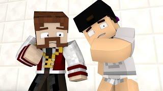 Minecraft: DESAFIO INSANO #1 - TARTARUGA CHAMADA PEIXE!! (c/ Luiz)