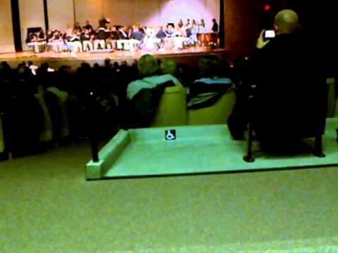 christiansburg middle school 8th grade band christmas performance